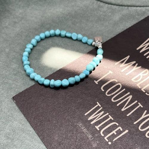 Sleeping Beauty Turquoise bracelet /  magnet style