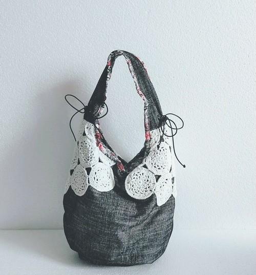Cotton Knit Bag