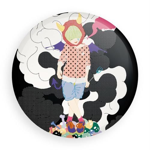 [缶バッジ] 9(悪魔)