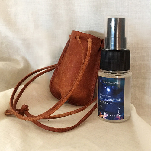 The Labyrinth 2016 Aroma Mist with Leather holder(made in Italy)