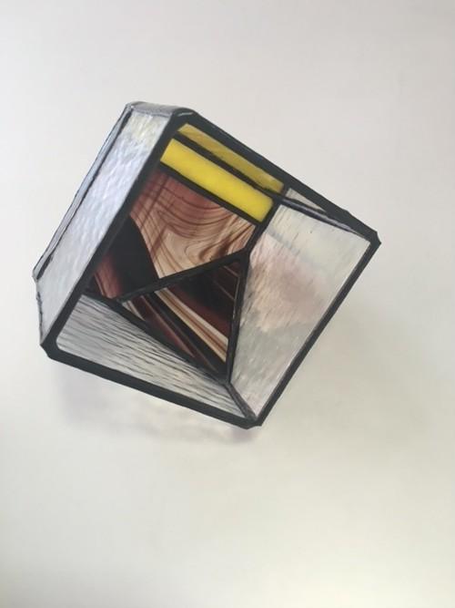 ステンドグラス テラリウム キューブ