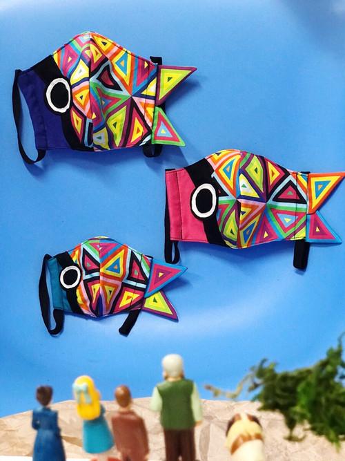 bode鯉のぼりマスク