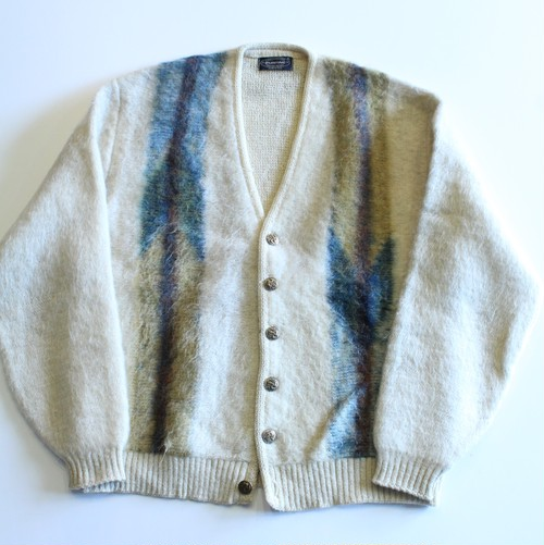 1960's Vintage Mohair Cardigan