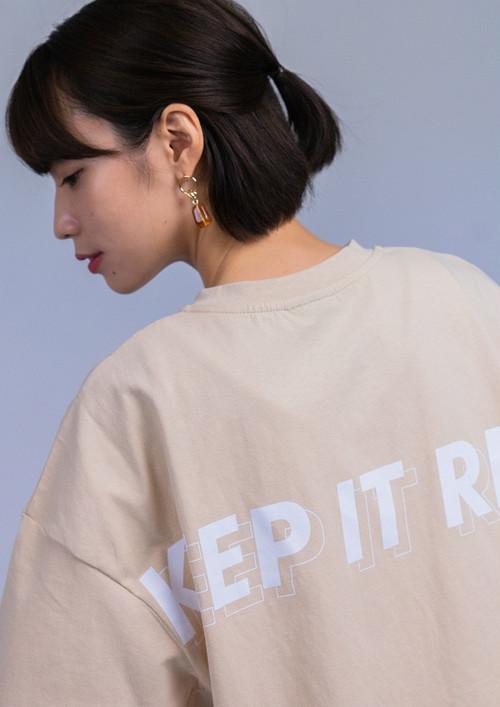 T-Shirts 2021 summer : Beige