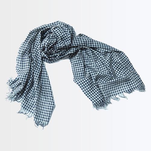 マドラス織りのショール