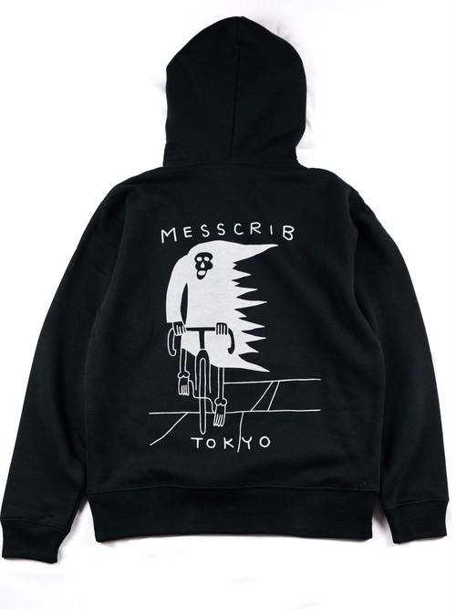 "MESS CRIB TOKYO ""Reflective Logo Hoodie"""