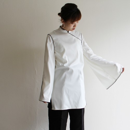 CONN【 womens 】trimming china blouse