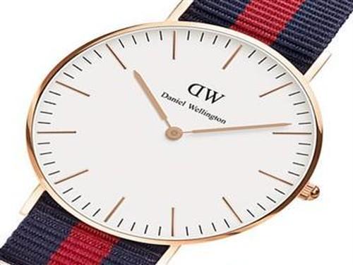 ダニエル ウェリントン オックスフォード/ローズ 36mm クオーツ 腕時計 0501DW