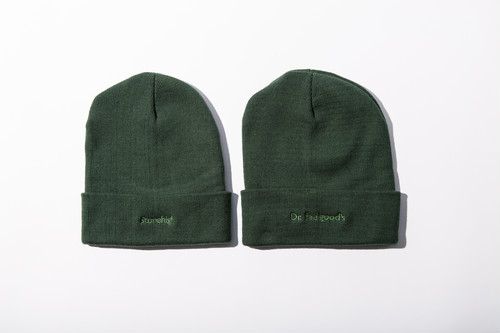 GREEN KNIT CAP (STONE HIGH / Dr FEELGOODS)