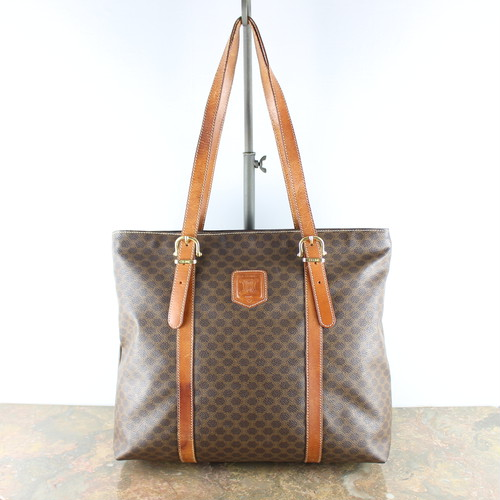 .OLD CELINE MACADAM PATTERNED TOTE BAG MADE IN ITALY/オールドセリーヌマカダム柄トートバッグ 2000000053288