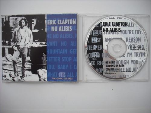 【CD single】ERIC CLAPTON / NO ALIBIS (3track)