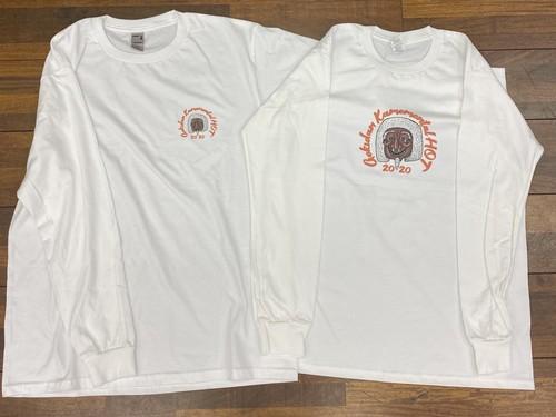 ※セット割引【HOT】ロンT2枚セットA(センターロゴ+胸ロゴ)