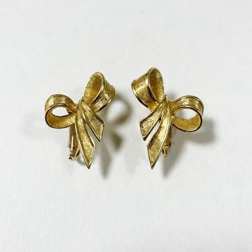 Vintage Boucher Ribbon Earrings