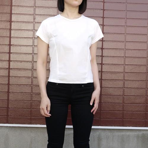 Shirts Fab. minimal cut&sew Off white  ykcs-101