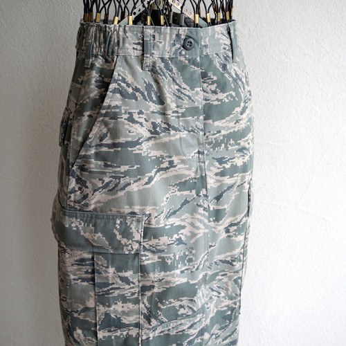 "[Magfacture] ""ABU LONG SKIRT"" size:about W27"