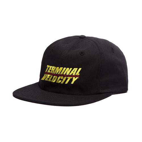ALLTIMERS(オールタイマーズ)/ TERMINAL VELOCITY HAT -BLACK-