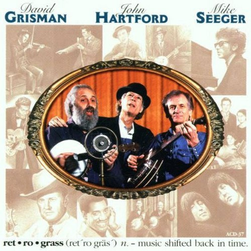 CD 「RETROGRASS / DAVID GRISMAN : JOHN HARTFORD : MIKE SEEGER」