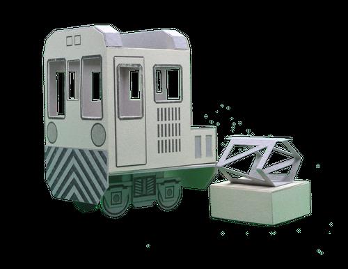 ぷちトレイン_電気機関車