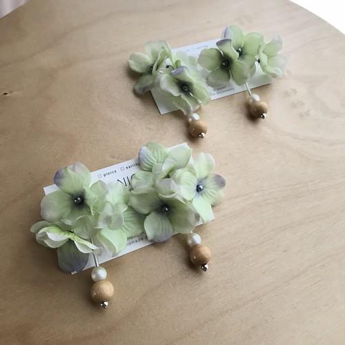 balancing flower ライトグリーン