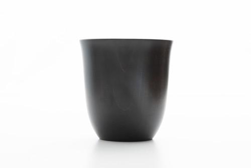 ガチャガチャ洗える カップ(黒漆)