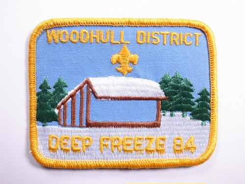 "OLD PATCH""DEEP FREEZE 84"""