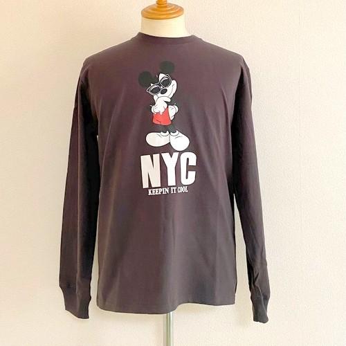 Schott/Disney T-shirts Keepin It Cool Charcoal