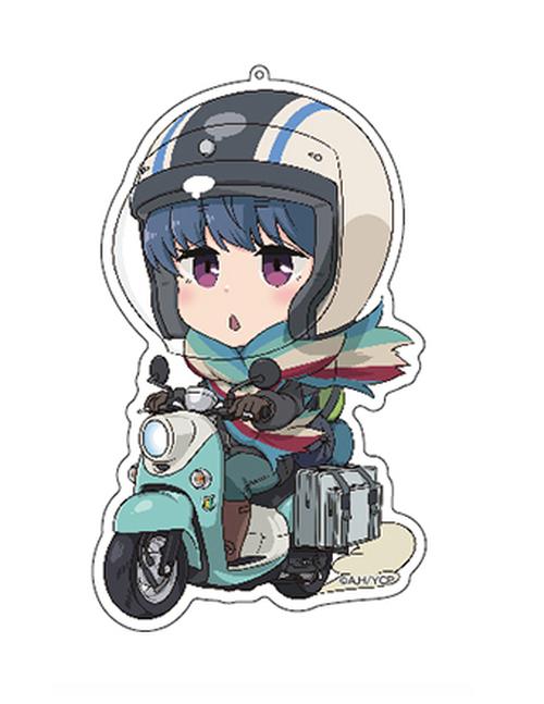 NEW★アクリルキーホルダー【バイクリン】ゆるキャン△