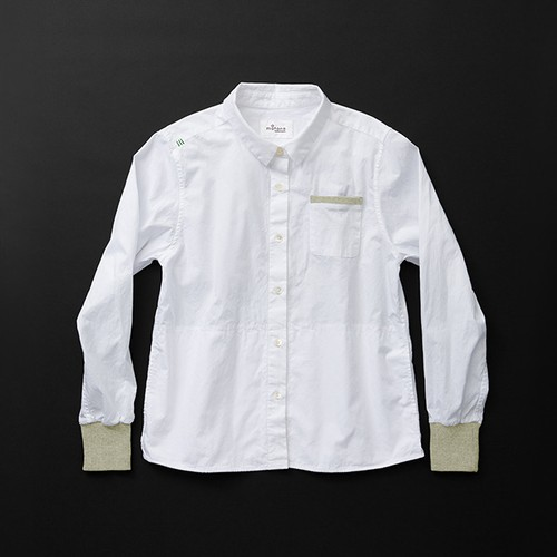 レディス pockets 白×羊+P