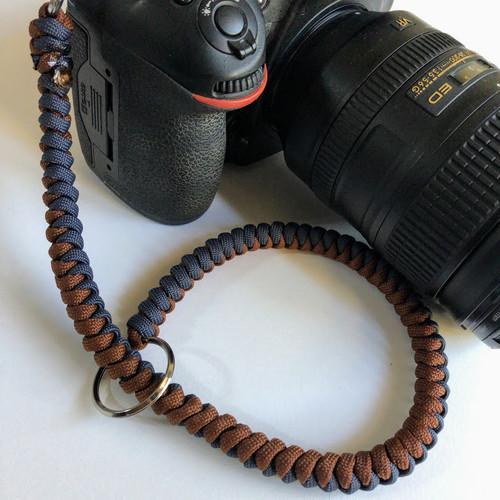 カメラストラップ パラコード Paracord Snake Knot Camera Wrist Strap