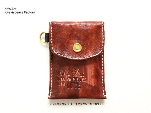 【受注生産】パスケース03 *5×5カラーパターン* OD-PAS-03
