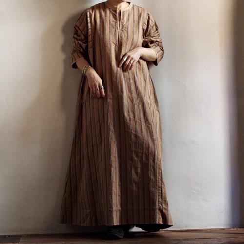 Select Item Stripe Dress / ストライプ ドレス / コイネック ワンピース