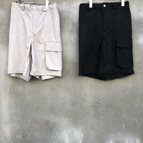"KIIT ""suede cloth shorts"""