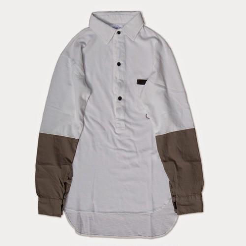 "PEEL&LIFT  "" pique army shirt """