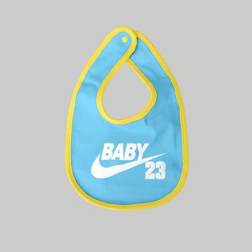 BABY23 (ホワイトロゴ)ベビービブ
