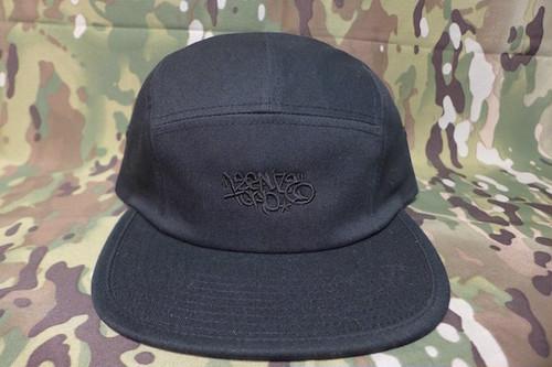 LEGALIZE TOKYO CAMP CAP (BLACKxBLACK)
