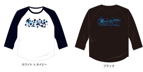 『Resurrection』7分ラグランTシャツ