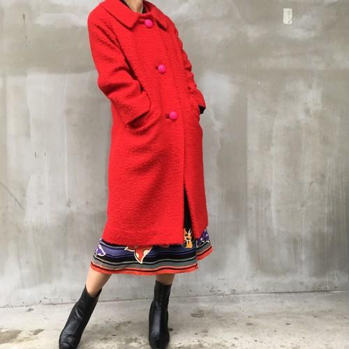 60's Vintage Red coat