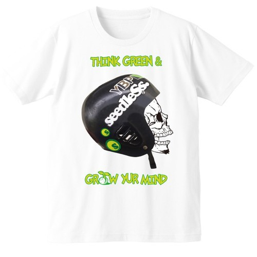 YBPオリジナル半袖Tシャツ キッズサイズ(White)