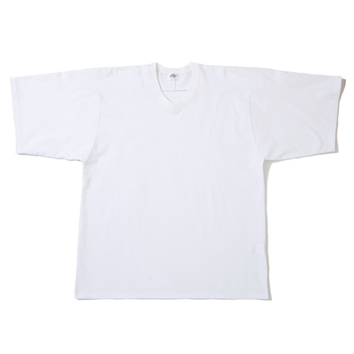 "Just Right ""Hockey Shirt S/S"" White"