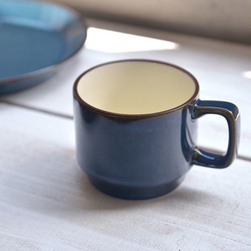 北欧ブルー スタッキングマグカップ
