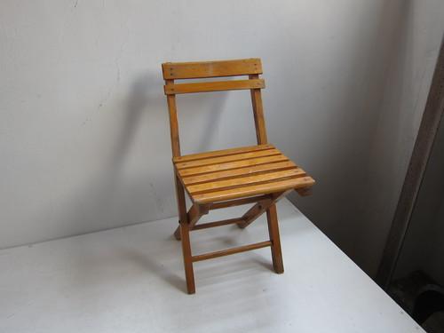 フランス 折りたたみ椅子 フォールディングチェアb 53