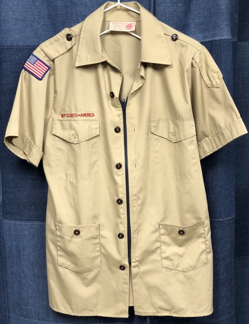 remake zip boyscout shirt