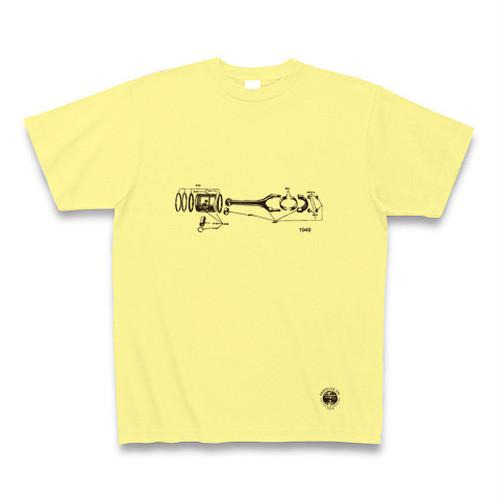 40s Piston Tshirt ピストンシリンダーTシャツ