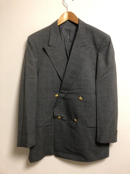 90's〜2000's Aquascutum double-breasted suit setup