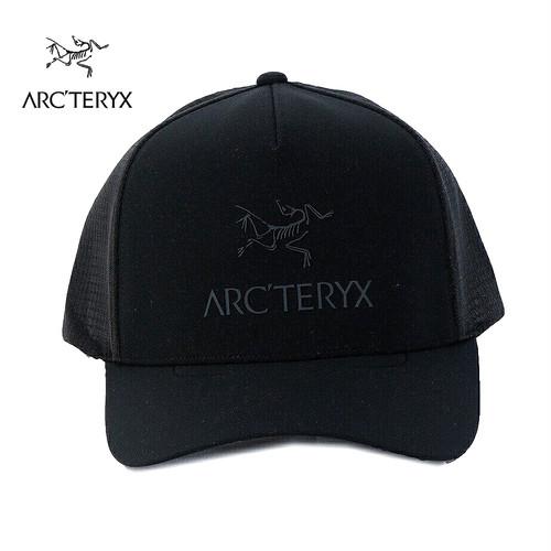 アークテリクス スナップバックキャップ メッシュキャップ LOGO TRUCKER HAT 23965 BLACK 8989177