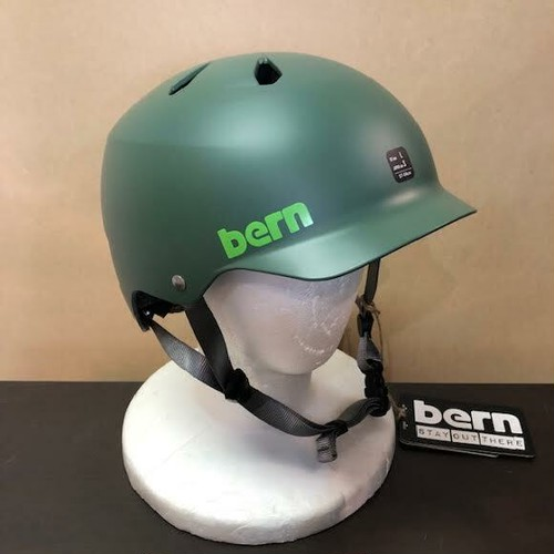【Bern】WATTS SUMMER MODEL / MATTE LEAF GREEN