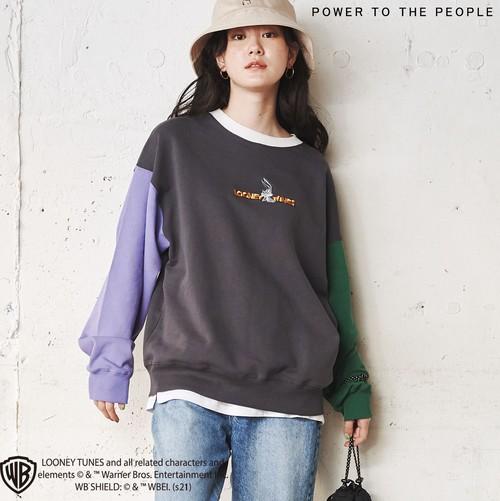 【LOONEY TUNES】刺繍キャラトレーナー NO1315015