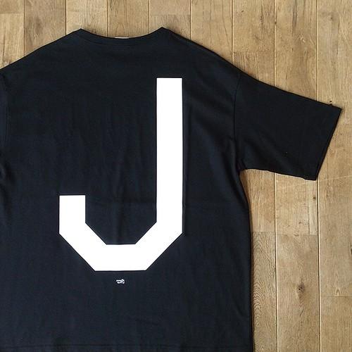 """【残りわずか】JS """"Big J"""" ポケットTシャツ/ブラック"""