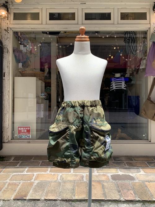 KIDS:highking【ハイキング】seafarer shorts(カモフラージュ/130〜150cm)