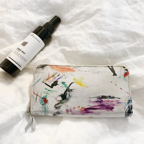 CILANDSIA art painting leather Wallet